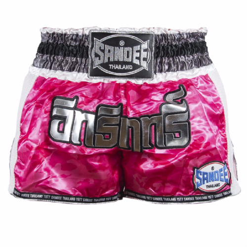 Sandee Kids Supernatural Muay Thai Shorts - Pink